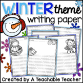 Writing Paper - Winter