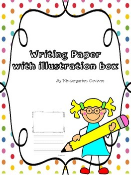 Writing Paper - With Illustration Boxes