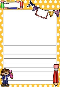 Writing Paper : Writing Rocks! : Standard Lines