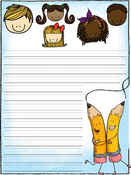 Writing Paper : Young Writers : Primary Lines