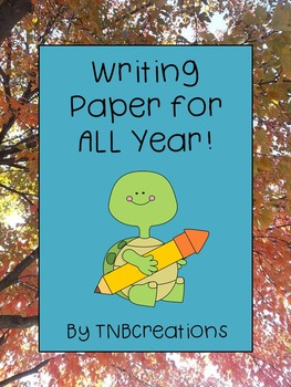 Writing Paper for Writing Centers All Year