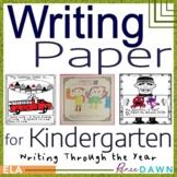 Writing Paper for Kindergarten