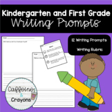Writing Paper for Kindergarten and First Graders