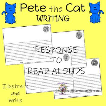 Writing Paper for Pete the Cat