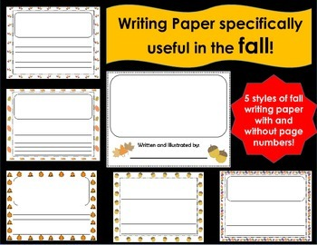 Writing Paper for the FALL! (horizontal)