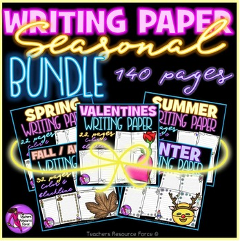Writing Paper for all seasons: bundle