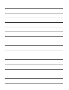 Writing Paper (vertical)