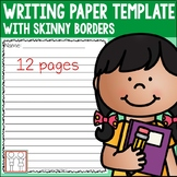 Writing Paper with Border