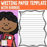 Writing Paper with Borders