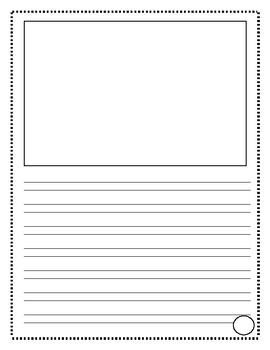 Writing Paper with Handwriting Without Tears-Like Lines (Vertical)