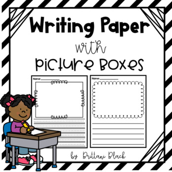 Help with paper writing picture boxes