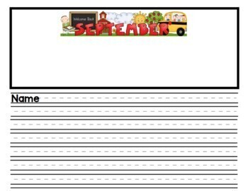 Writing Paper/Stationery in Primary/Secondary Lines
