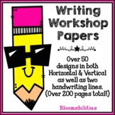 Writing Workshop Paper / Stationery in Primary/Secondary Lines