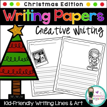 Writing Papers: Christmas Theme
