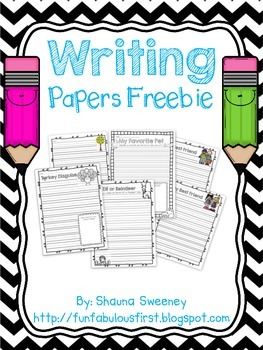 Writing Papers Freebie