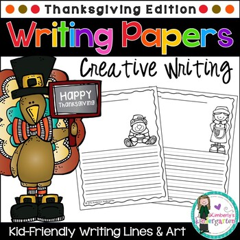 Writing Papers: Thanksgiving Theme