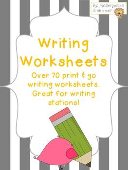 Writing Papers - Writing Worksheets