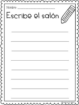 Writing Papers in Spanish