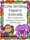 Writing Papers/Pages: Animals