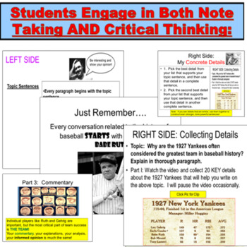 Writing: Paragraph Building Powerpoint