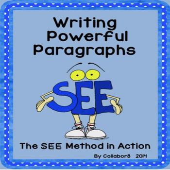 Writing Powerful Paragraphs Lapbook and Lessons