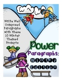 Winter Paragraph Writing - How to paragraph, Informational
