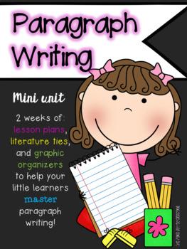 Writing Paragraphs Mini-Unit
