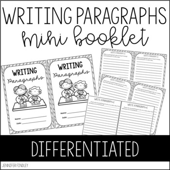 Writing Paragraphs Practice Book {Differentiated}