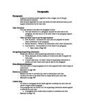 Writing Paragraphs Teacher Notes