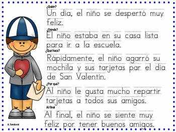 Writing Paragraphs in Spanish-February