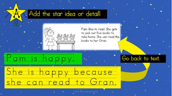 Writing Paragraphs in response to stories (STAR Paragraphs)