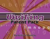 Writing Parent Pack