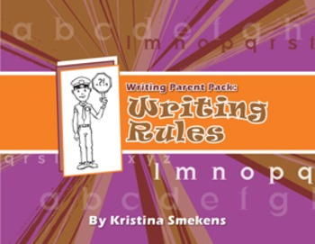 Writing Parent Pack: Writing Rules (Conventions)