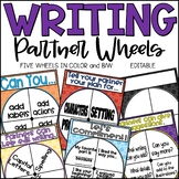 Writing Partner Wheel for Writer's Workshop - Editable!