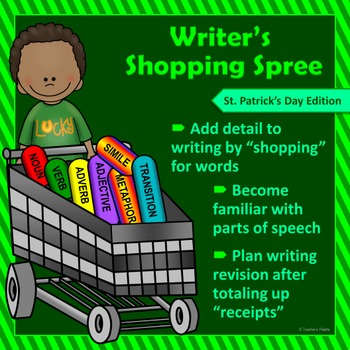 "Saint Patrick's Day Writing & Parts of Speech Activity:""Wr"