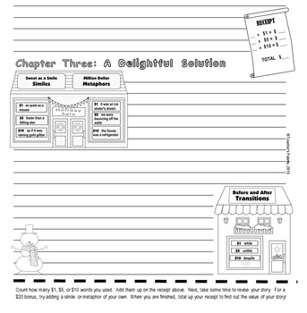 "Christmas Writing & Parts of Speech Activity: ""Writer's Shopping Spree"""