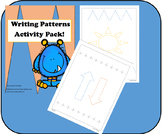 Writing Patterns! pre-writing skills!  Activity pack!!