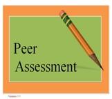 Writing- Peer Assessment Guide