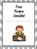 Writing: Peer Review Checklist