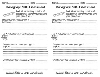 Writing Peer- and Self-Assessment Forms