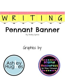 Writing Pennant Banner