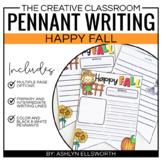Writing Pennant | Fall Writing Activity