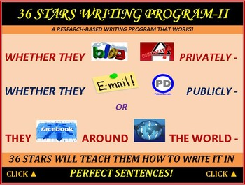 Writing Perfect Essays Using 36 Stars Rubric & Guide