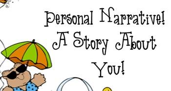 Writing: Personal Narrative SMART board file