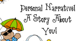 Writing: Personal Narrative SMART board file