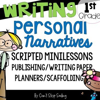 Personal Narratives Kindergarten and Grade 1