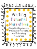 Writing Personal Narratives Resources