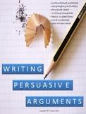 Writing Persuasive Arguments