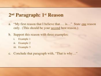 Writing Persuasive Essays