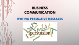 Writing Persuasive Messages (Business Communication)